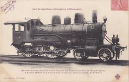 Trains (Chemins De Fer) - Locomotives étrangères - Allemagne - 27 - Eisenbahnen