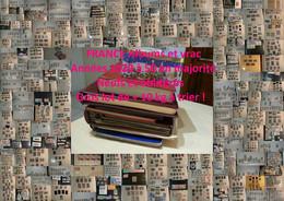 FRANCE - 11 Kg Albums Et Vrac à Trier - Timbres Neufs Et Oblitérés - Majorité Début XXème - 226 Photos - Départ 1 Euro - Collezioni (in Album)