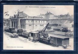 Suisse. La Chaux De Fonds. La Nouvelle Gare Et Les Quais - NE Neuchâtel