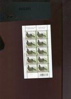 Belgie Buzin Vogels Birds 2013 4305 Associations Verenigingen 2e Druk Feuillet NUANCE VERT !!! RR Plaatnummer 1 - 1985-.. Birds (Buzin)