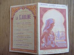 Versailles Mde Vve Legris Et Fils La Kabiline Pub Sur Calendrier 1923 - Petits Métiers