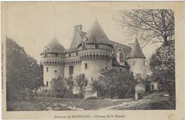 37   Saint Bonnet  - Chateau  De Saint Bonnet  Environ De Richelieu - Otros Municipios