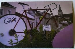GRAY - Décoration Vélo Pour Le Passage Du TDF - Gray