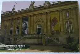 CPM - PARIS - Exposition HERGE Au Grand Palais - 2016 - Exhibitions