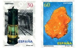 Ref. 85474 * MNH * - SPAIN. 1996. MINERALS . MINERALES - 1991-00 Nuevos & Fijasellos