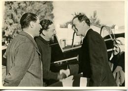 Lindbergh Si Congeda A Tripoli Dal Maresciallo Balbo - Lot. 621 - Guerra 1939-45