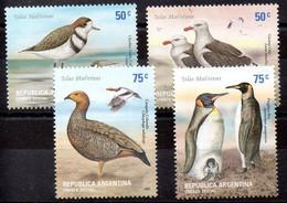 Argentina Serie N ºYvert 2295/98 ** AVES (BIRDS) - Unused Stamps