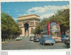 AK  Paris Bus Autobus Traffic Avenue Foch - Bus & Autocars