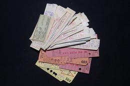 VIEUX PAPIERS  - Lot De Tickets Divers, à Voir  - L 91096 - Andere