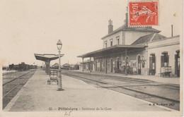 INTERIEUR DE LA GARE - Pithiviers