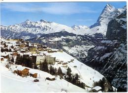 Murren Mit Eiger - Zwitserland, Swisse, Schweiz - Zonder Classificatie