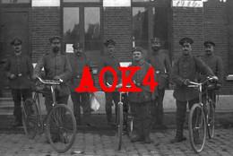 KAPELLEN Ertbrand Antwerpen Landsturm Mannheim 1915 Feldpost Fahrrad Radfahrer Baden Dodendraad - Kapellen