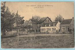 Heide : Zicht Aan De Steenweg Naar De Statie - Hoelen 8808 - Kalmthout