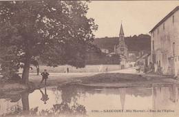 SAUCOURT (Haute-Marne): Rue De L'Eglise - Sonstige Gemeinden