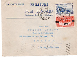 ALGERIE- BOUFARIK  - ENVELOPPE JUDAÏCA - PAUL BENSAID - Algerije (1962-...)