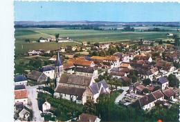 Cpm -   Pleurs - Quartier De L ' église , Vue Aérienne    B663 - Andere Gemeenten
