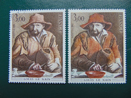 N° 2108 **  Le Nain - Varieties: 1980-89 Mint/hinged