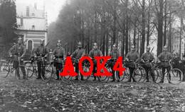 TOURNAI 1914 Landsturm Mannheim Baden Radfahrer Fahrrad Friedrich Eicher Pickelhaube Avenue - Tournai