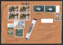 Letter Laos To Germany Registered Airmail - Laos