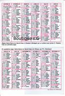 Calendrier Petit Format 1985 Notre Dame Du Sacré Coeur Souviens Toi Religion Croyance Priere - Small : 1981-90