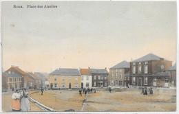Roux : Place Des Aizelies, Couleur    VENTE DE MA COLLECTION PRIX SYMPAS - REGARDEZ MES OFFRES - Sin Clasificación