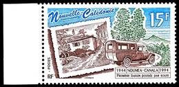 NOUV.-CALEDONIE 1994 - Yv. 656 ** Bdf - Liaison Postale Nouméa-Canala  ..Réf.NCE26372 - Nuovi