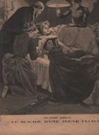 LE PETIT PARISIEN 27 08 1893 - SUICIDE LE MANS - DOCTEUR CHARCOT - MARS LA TOUR - TENTATIVE DE MEURTRE EDOUARD LOCKROY - 1850 - 1899