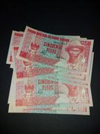 LOT 10 PCS - GUINEA BISSAU 50 PESOS 1990. UNC - Guinea-Bissau