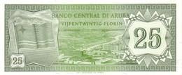 ARUBA  P. 3 25 F 1986 UNC - Aruba (1986-...)
