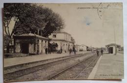 Carte Postale Le Neubourg La Gare 1925 - Le Neubourg