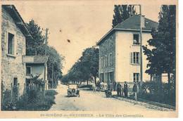 CPA   ST- SIMEON De BRESSIEUX  La Villa Des Charmilles - Autres Communes