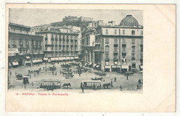 NAPOLI - Piazza S. Ferdinando - (Tramway) - Napoli (Naples)