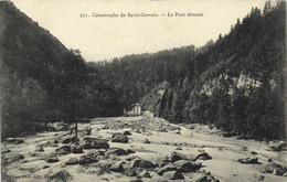 Catastrophe De Saint Gervais (1892) Le Parc Dévasté RV - Saint-Gervais-les-Bains