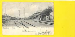 MAIZIERES METZ Rare Bahnhof La Gare (Nels) Moselle (57) - Metz
