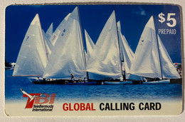 Sailing Ships (Thin Plastic) - Bermudes
