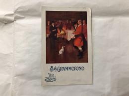 CARTOLINA PUBBLICITARIA IL GRAMMOFONO THE GRAMOPHONE COMPANY 1908. - Other
