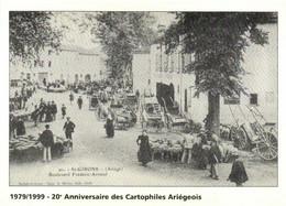 St Girons (Ariège) Boulevard Frederic Arnaud Jour De Foire RV - Saint Girons