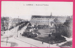 PTS 59-570 - NORD - CAMBRAI -  Boulevard Vauban - Cambrai