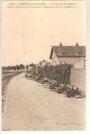 60 - Crépy-en-Valois (oise) -   Une Ligne De Tirailleurs ..... - Crepy En Valois