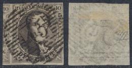 "Médaillon - N°3 Touché + Grand Voisin Obl P45 ""Gand"". Superbe Frappe - 1849-1850 Medaglioni (3/5)"