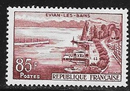 N° 1193  FRANCE - NEUF -  EVIAN LES BAINS   -  1959 - Ungebraucht