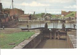 18252) England Bridgwater Docks Postmark Cancel USA See Back - Non Classificati