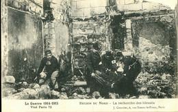 59-672 - NORD - Guerre 1914-1915 -Région Du Nord - La Recherche Des Blessès - Other Municipalities