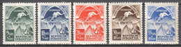 Indonesia, 1951, Asian Olympic Games New Delhi, MNH, Michel 68-72 - Indonesia