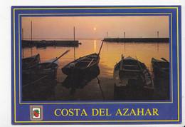 ESPAGNE: COSTA DEL AZAHAR, Port La Nuit, Barques, Ed. Comas Aldea 1989 - Non Classés