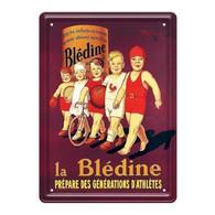 Plaque Métallique Blédine Ed Clouet - Autres