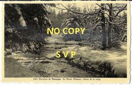 01068 ENVIRONS DE NASSOGNE // LA HAUTE WAMME : FEERIE DE LA NEIGE // DOS DIVISE // ECRITE // TIMBRE - Nassogne