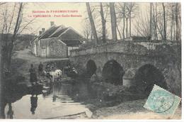 CPA   LA VENDERIE   Pont Gallo - Romain - Other Municipalities