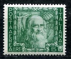 Z2518 ITALIA REGNO 1936 Proclamazione Dell'Impero, Posta Aerea, 5 L., MH*, Ottime Condizioni - Mint/hinged
