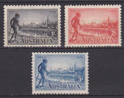 AUSTRALIA 1934, SG# 147-149, CV £55, Architecture, MH - Unclassified